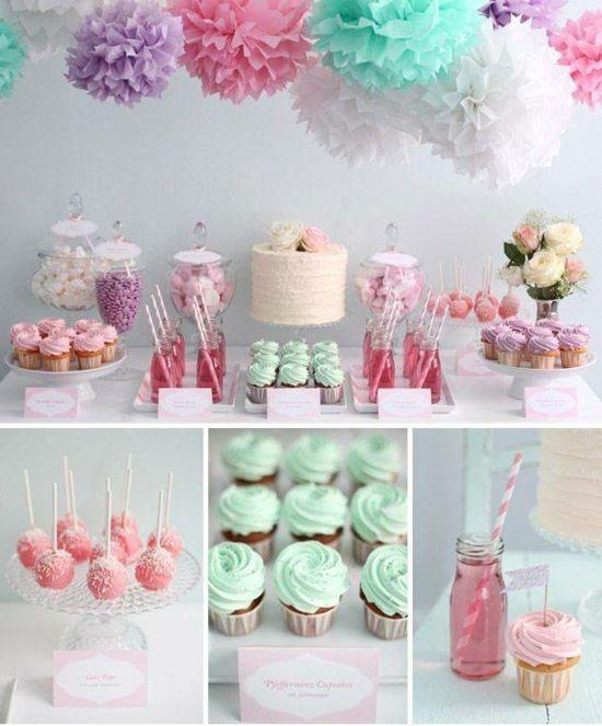 Décoration table anniversaire parfaite pour votre petite princesse