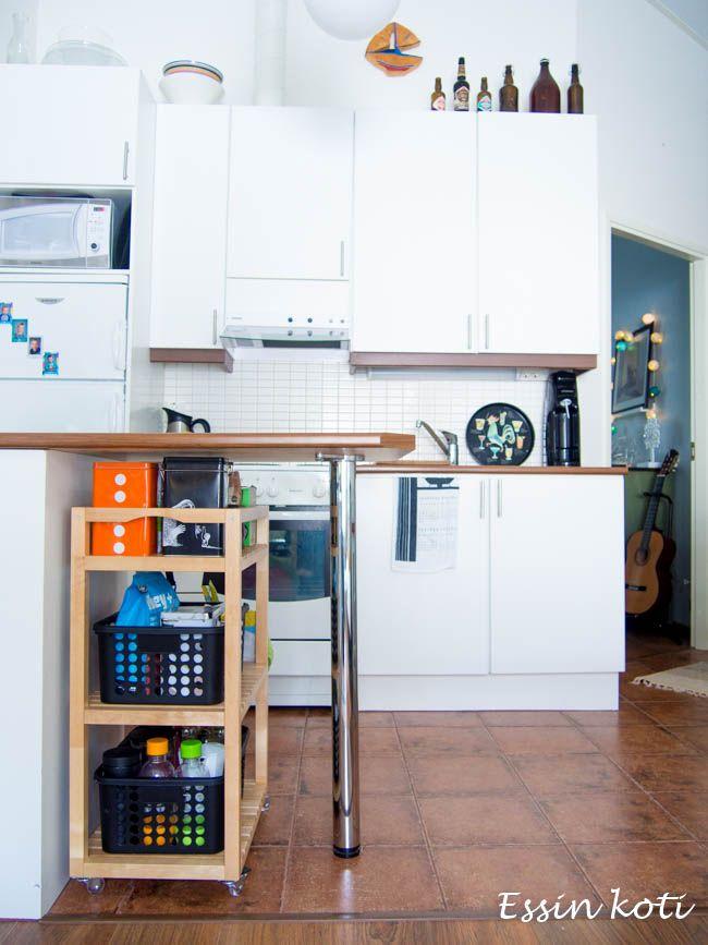 Essin koti: MOLGER Kärry - koivu - IKEA