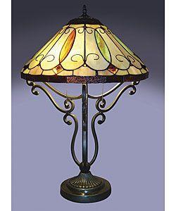 Tiffany-style Grape Desk Lamp - 10381142 - Overstock Shopping ...