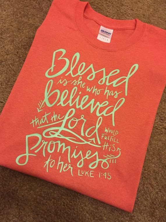 Inspirational Bible Verse T-Shirt by MadeByKCL on Etsy