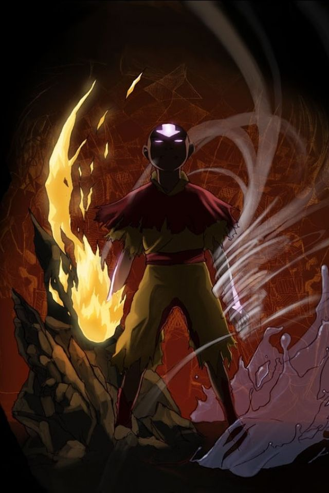 Http Stockwallpapers Org 21341 Avatar The Last Airbender Mobile Wallpaper Html Avatar The Last Airbender Mobile Avatar Aang Avatar The Last Airbender Aang