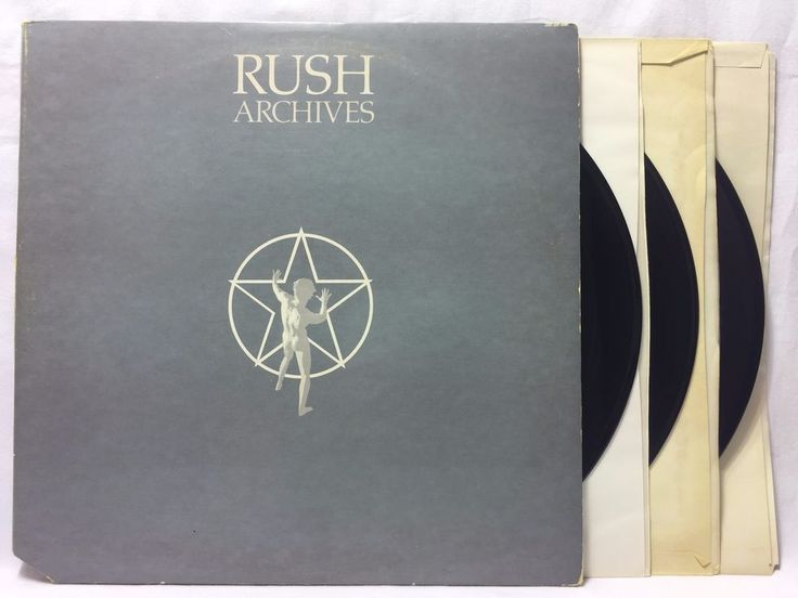Rush Archives - S/T Fly By Night Caress Of Steel - #Vinyl 3LP Record SRM-3-9200