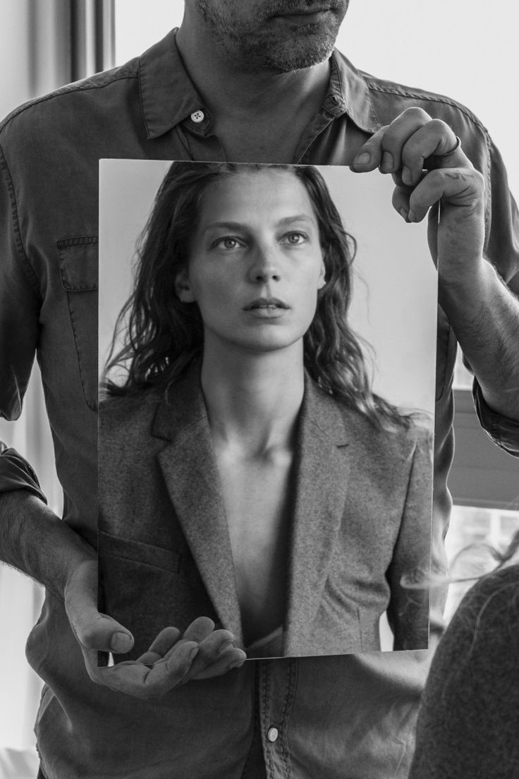 Equipment Fall-Winter 2015-2016 Ad Campaign Model: Daria Werbowy Photographer: Daria Werbowy