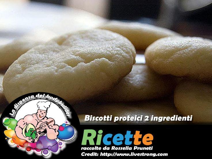 Biscotti proteici due ingredienti