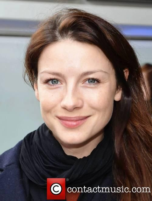 Caitriona Balfe and hair stylist Michael Doyle go for lunch together at Wagamama