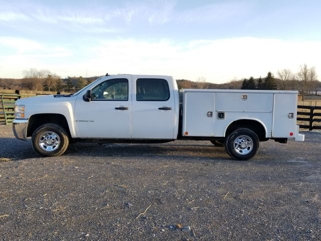 2009 Chevy 2500 Hd 4x4 Crew Cab Utility Truck Trucks For Sale