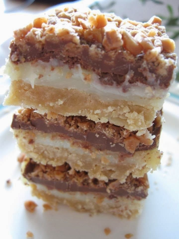 Toffee Chocolate Bars - One Of The Best Desserts Ever!! They Are Simply Amazing And So Easy To Make!