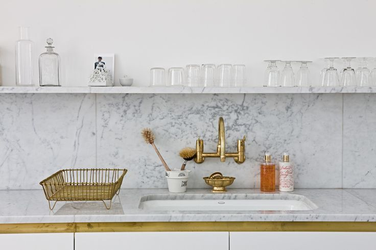 brass and marble | michaelis boyd