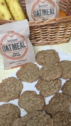 Everyone seems to have a box of instant oatmeal packets hiding in their pantry or kitchen, sadly forgotten. While they make a quick breakfast, a lot of people get tired of the same old flavors of everyday oatmeal. Rather than throwing away money and letting oatmeal packets become trashcan bound, I try to re-purpose them.  Instant oatmeal packets arent just for breakfast, they also make wonderful, chewy oatmeal cookies unlike any other. This recipe is great because you can mix and match…