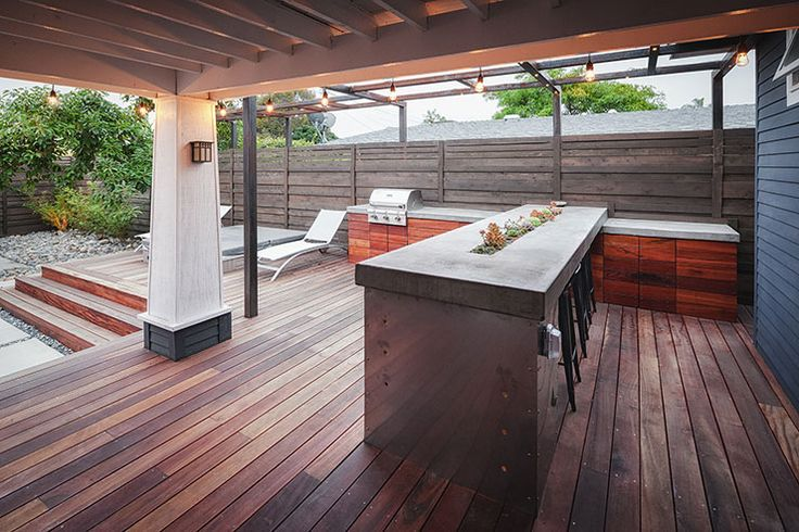 Best 25 Modern Outdoor Kitchen Ideas On Pinterest