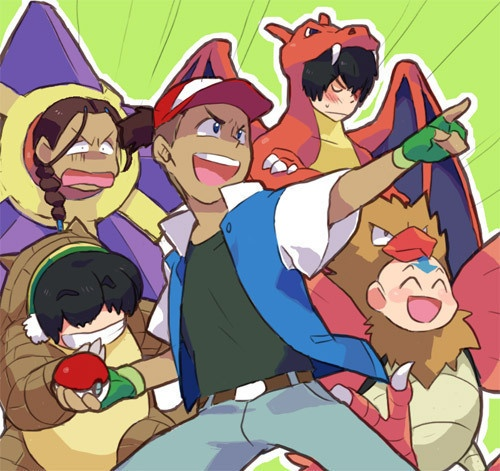 Avatar: Pokemon Master  I don't know why I think this is so funny. Aang should be ditto master of all types