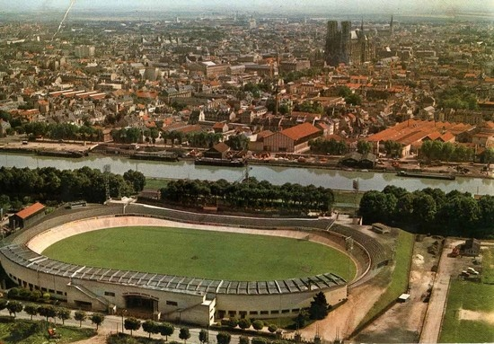 L'ancien stade Auguste Delaune (Reims, France)