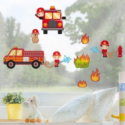 Fensterfolie - Fenstersticker - Feuerwehr im Einsatz Set 100x150-45.00 Jetzt bestellen unter: https://moebel.ladendirekt.de/dekoration/wandtattoos/wanddekoration/?uid=fa4c489e-64c6-59d2-9658-ea68a3cbc460&utm_source=pinterest&utm_medium=pin&utm_campaign=boards #heim #tattoos #dekoration