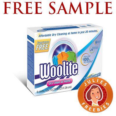 Free Woolite Dry Clean At Home