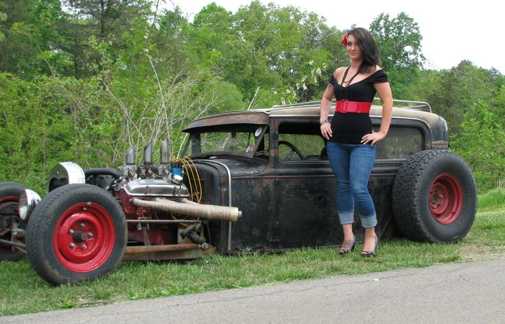 Rat Rod Girls | ... issue of hot rod magazine and the feature article is about rat rods