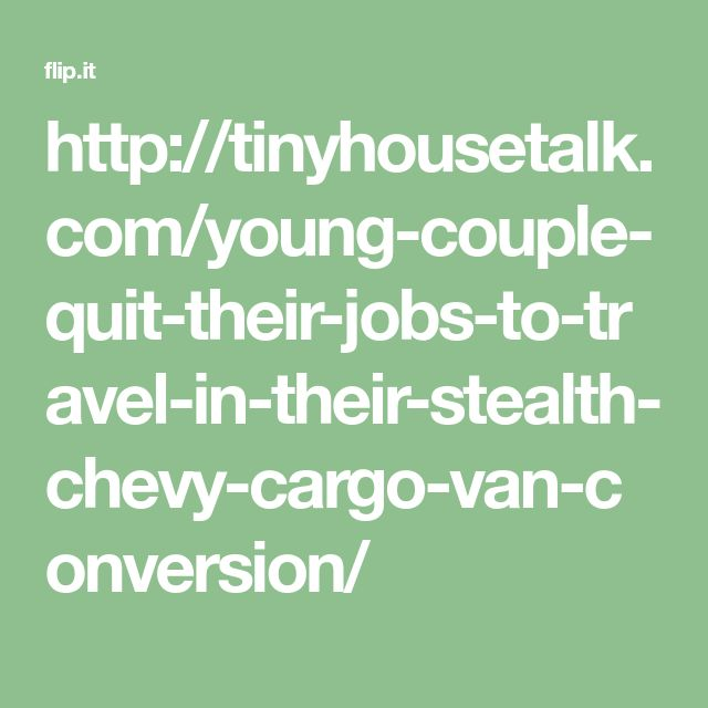 Tinyhousetalk Young Couple Quit Their