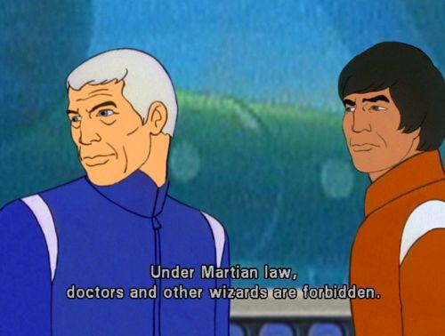 Martian Law! #Sealab 2021 #Martian Law