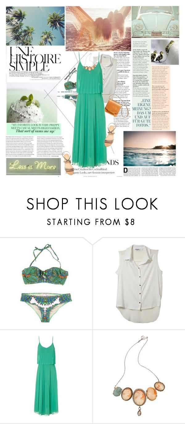 """California girl"" by bubbles-of-fun ❤ liked on Polyvore featuring Une, Mara Hoffman, The Row, Jane Norman and Julie Wolfe"