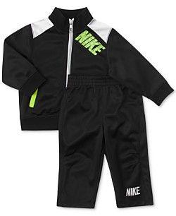 Nike Kids Set, Little Boys 2-Piece Tricot Jacket and Pants Set
