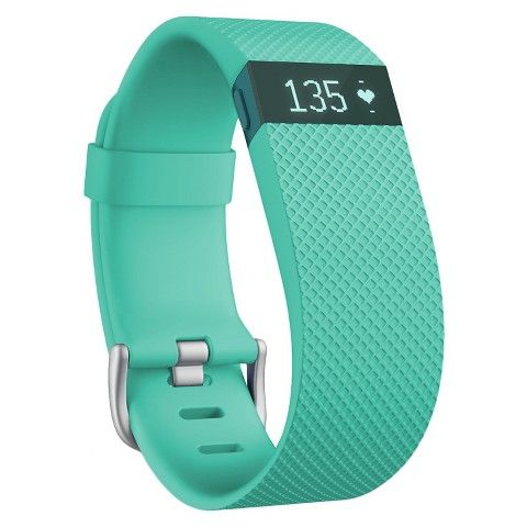 FitBit Charge HR Heart Rate + Activity Wristband Large – Teal