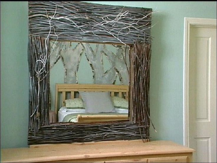 top 10 diy mirror frames. Black Bedroom Furniture Sets. Home Design Ideas