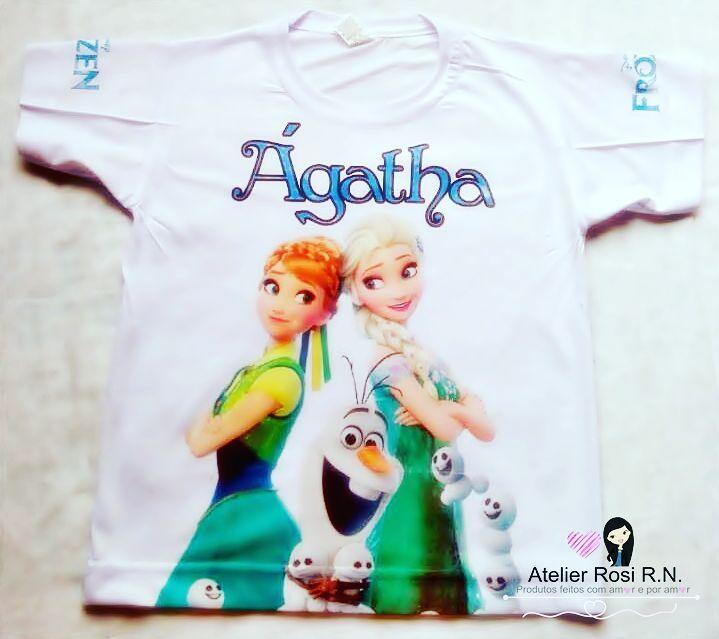 ✨ Camisas Personalizadas Frozen ✨  Entre em contato e peça a sua.����❤❄ #camisaspersonalizadas  #frozen #agatha #camisas #AtelierRosiRN #elsaeana #ana #elsa #personalzados http://misstagram.com/ipost/1572171627525277709/?code=BXRecP4l4gN