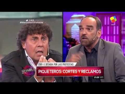 """""""Kirchnerista"""" y """"facho"""": el cruce entre un periodista y un sindicalista..."""