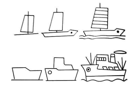 how to draw a pirate ship easy step by step