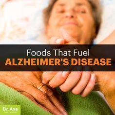 Foods raise Alzheimer's risk - Dr. Axe http://www.DrAxe.com #health #holistic #natural