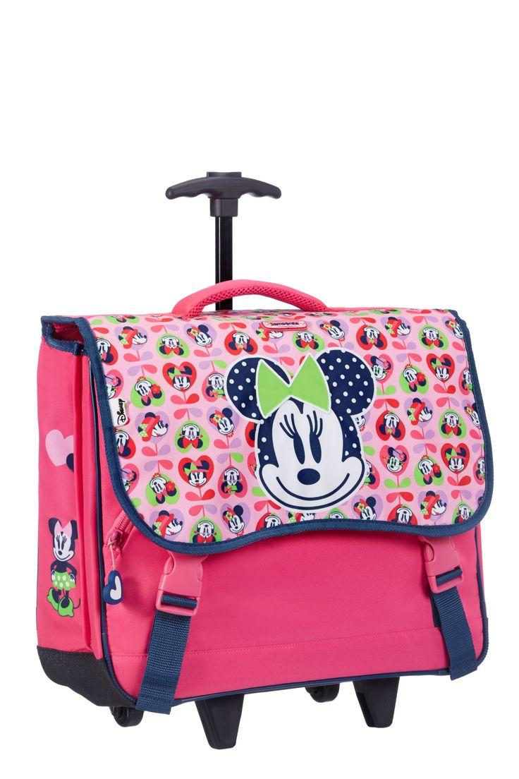 Disney Wonder - Minnie Mouse Roll Schoolbag #Disney #Samsonite #MinnieMouse #Minnie #Mouse #Travel #Kids #School #Schoolbag #MySamsonite #ByYourSide #Flowers