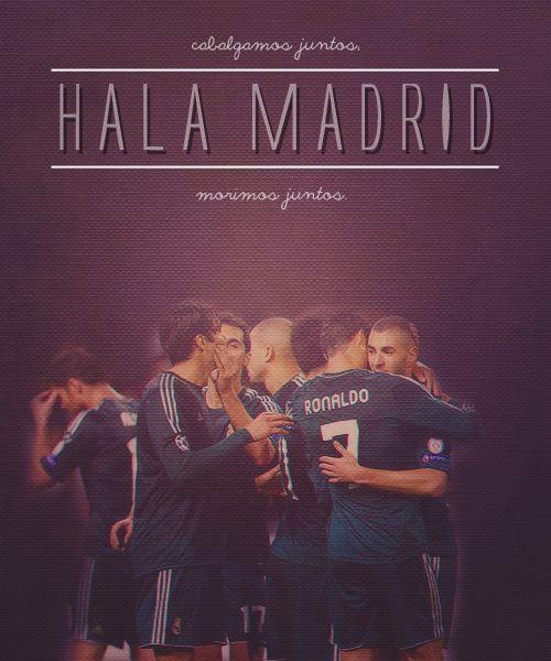 Hala Madrid .... Vamos por la decima