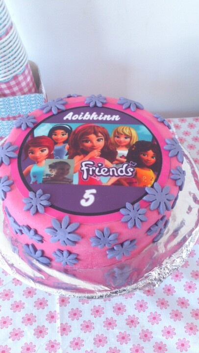 Photos Of Birthday Cake For Friends : Lego Friends birthday cake for Aoibhinn Things I do for ...
