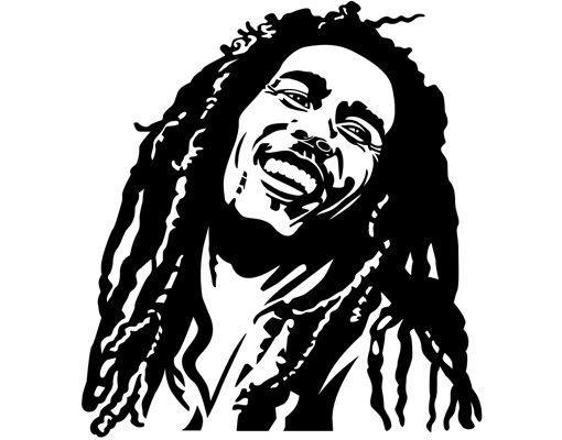 stencils of bob marley - Google Search