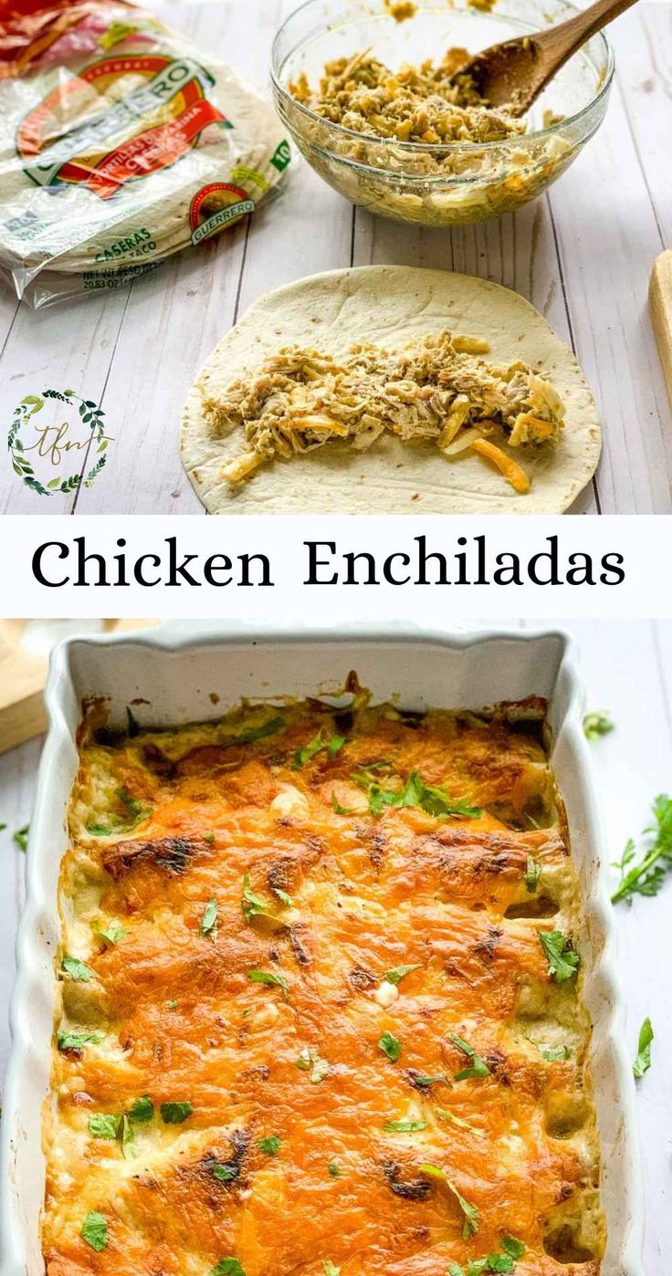 Jun 29, 2020 – My family loves these amazingly creamy chicken enchiladas. Actually, everyone who's had them loves them….
