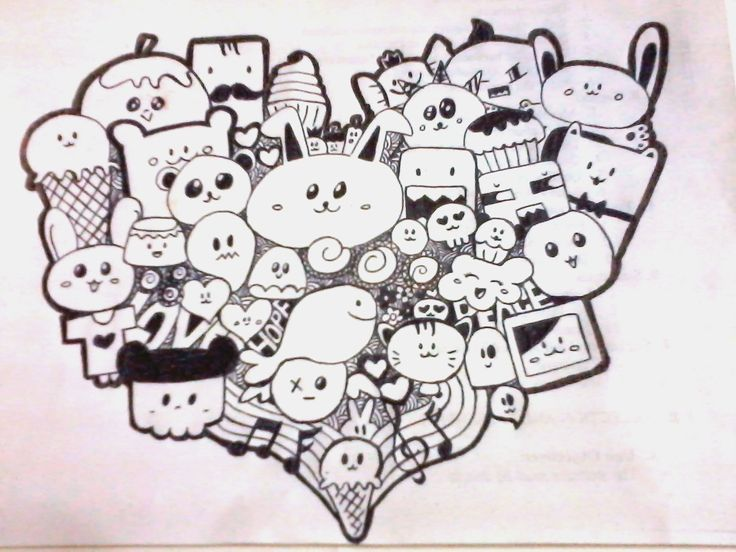 25 Best Images About Cute On Pinterest Drawings Doodles And