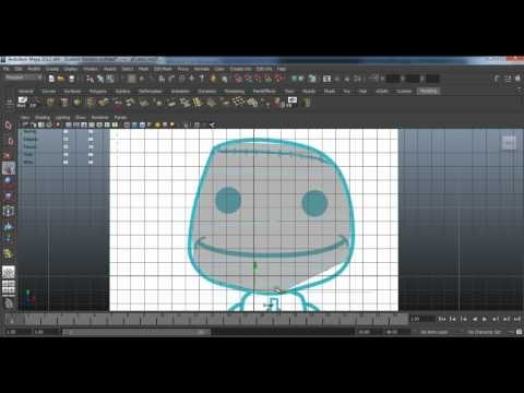Autodesk Maya: Sackboy Modeling Tutorial [part 1]