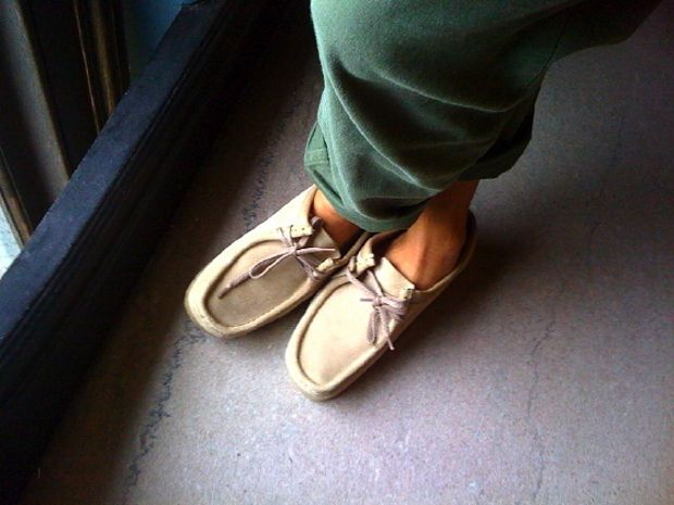 Itemized Clarks Sand Suede Wallabees Days In The Floor