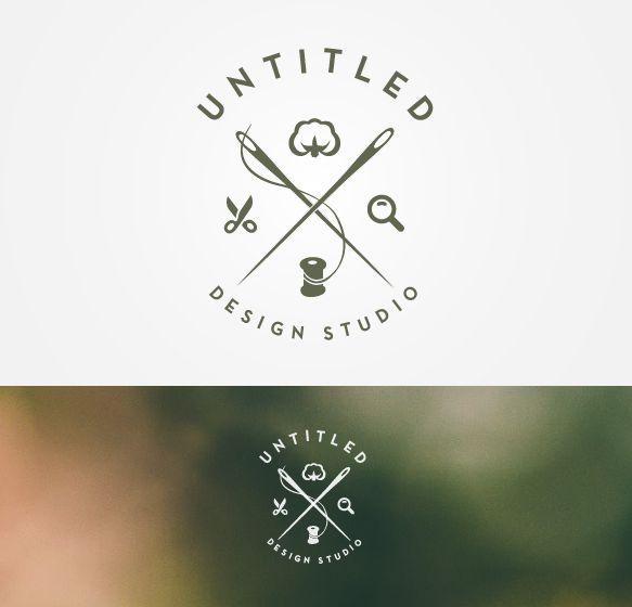 Untitled Logo Concept for a Design Studio by Adrian Gabor, via Behance