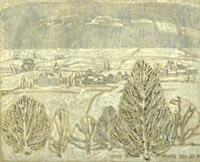 Gentle Snowfall by David Milne