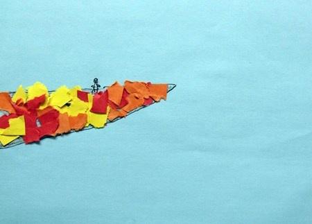 """Fall Birds""  Artsonia Art Museum :: Artwork by Kelsey3878"