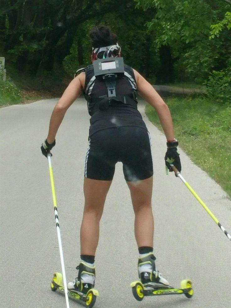 Biathlon tests in Sandanski (Bulgaria)