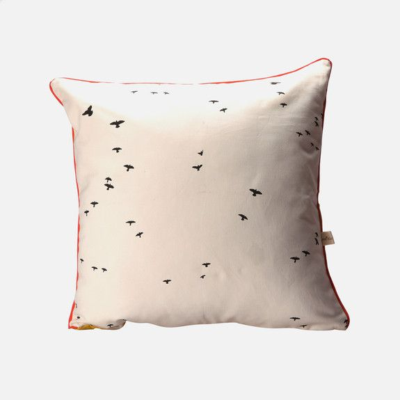 Love Milo - Bird Cushion Cover with Piping