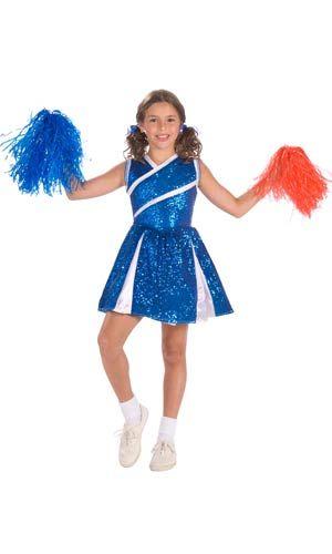 Sassy Cheerleader Girls Costume