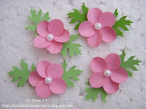 paper flowers | ... ,Crafts ,Kids Projects: Paper Flower Tutorials -14 types of flowers