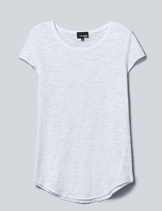 | 13 Perfect White T-Shirts Our Editors Pretty Much Live In - outfit idea - dream closet - minimal wardrobe - wear black - project 33 - capsule wardrobe