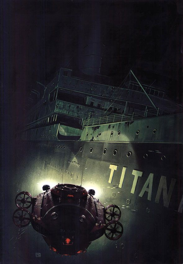titanic ship underwater - photo #15