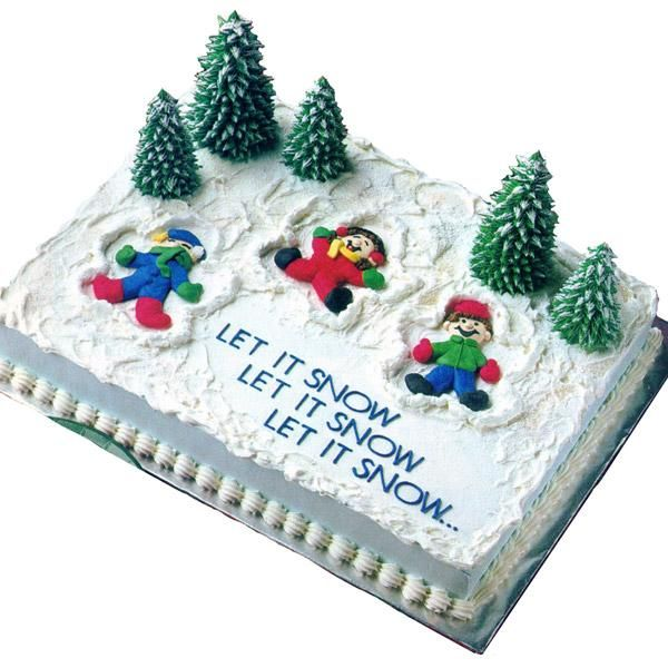 Christmas Sheet Cake Decorating Ideas : 1000+ ideas about Sheet Cakes Decorated on Pinterest ...