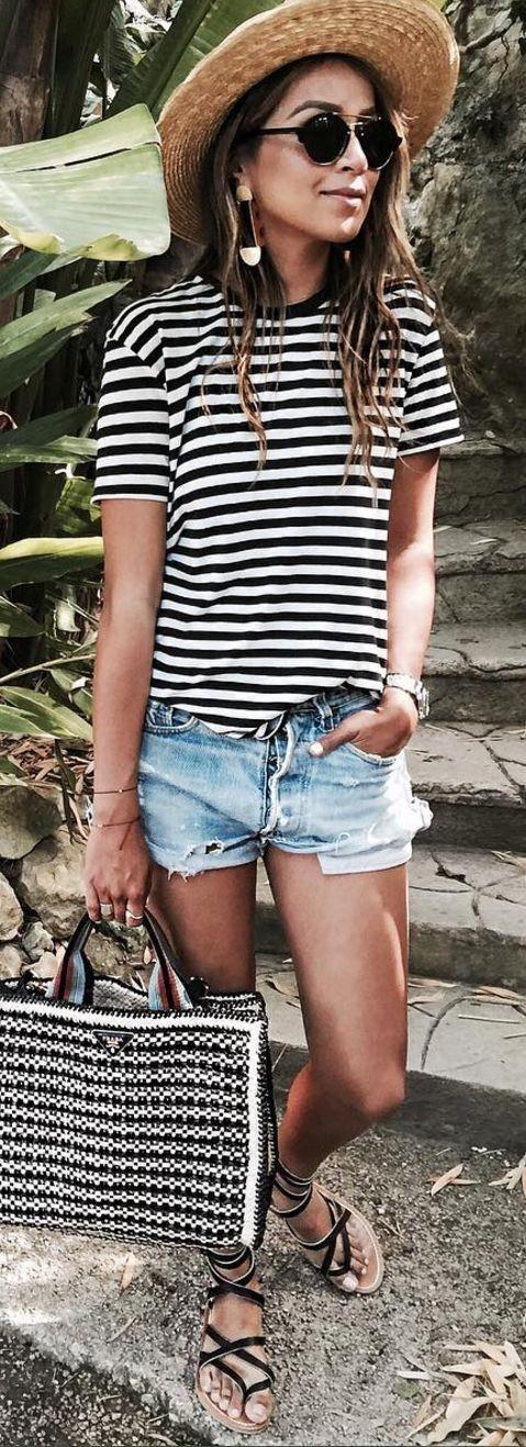 Stripes + Shorts
