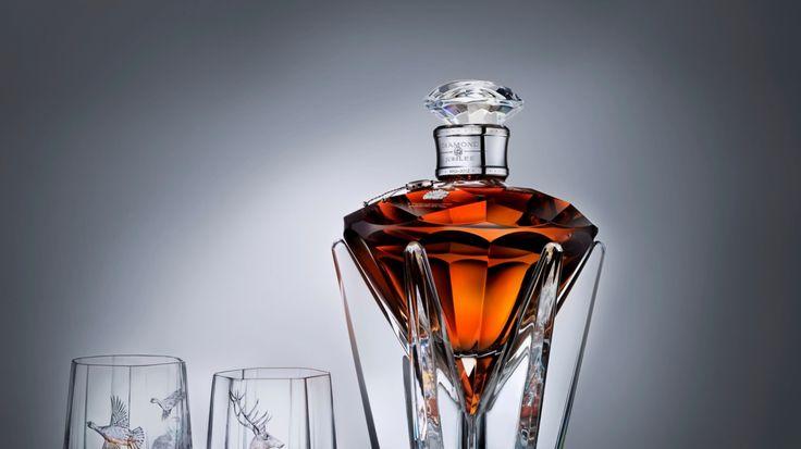 1366x768 Wallpaper johnnie walker, diamond jubilee, whiskey, alcohol