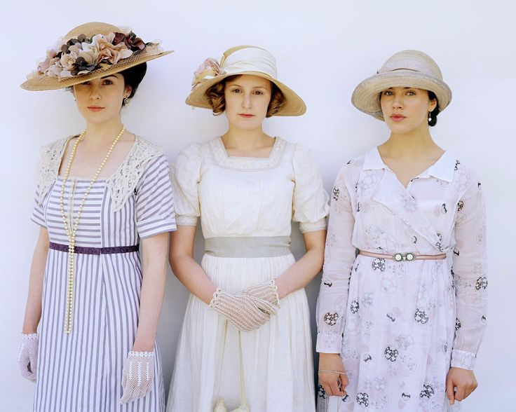 Lady Mary, Edith and Sybil